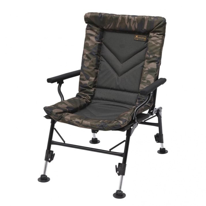 PL Avenger Comfort Camo Chair W/Armrests & Covers Стол