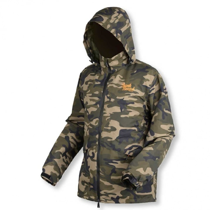 Bank Bound 3-Season Camo Fishing Jacket