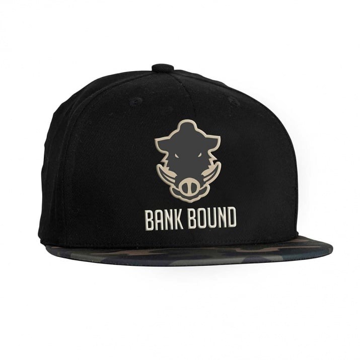 Bank Bound Flat Bill Cap Шапка